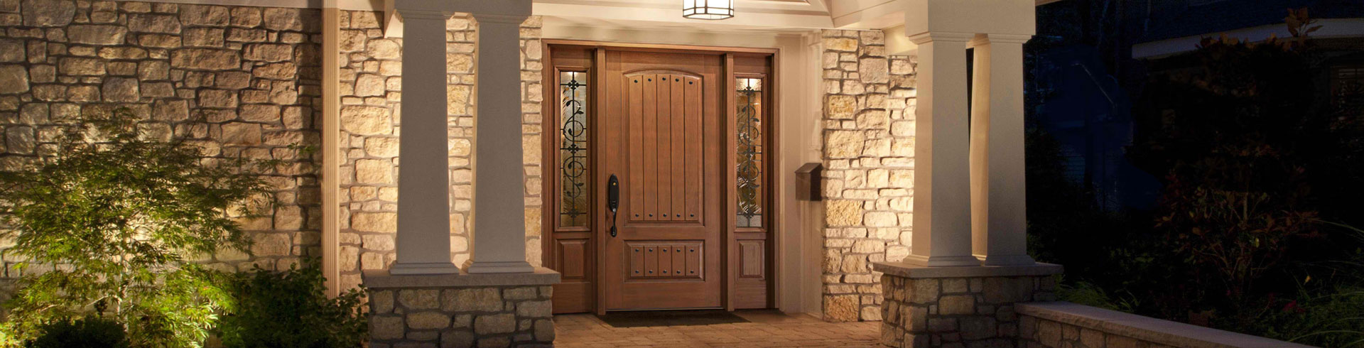 <h1>Front Doors</h1><p>The Front Door makes a big statement about your home. It should not only look attractive, but also be practical and long lasting.  <a href='doors.html'>Learn More ></a></p>